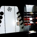 Weinflaschenhalterung