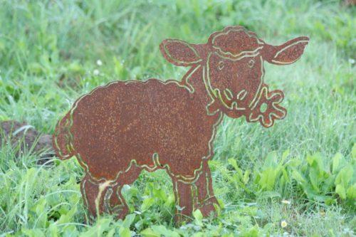 Schaf in Rostoptik